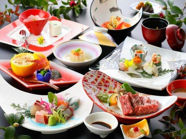 【冬の和懐石】四季折々の食材を使用した料理長渾身の品々/夕食一例