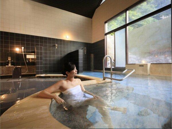 別府八湯の一つ亀川温泉の湯をご堪能ください!
