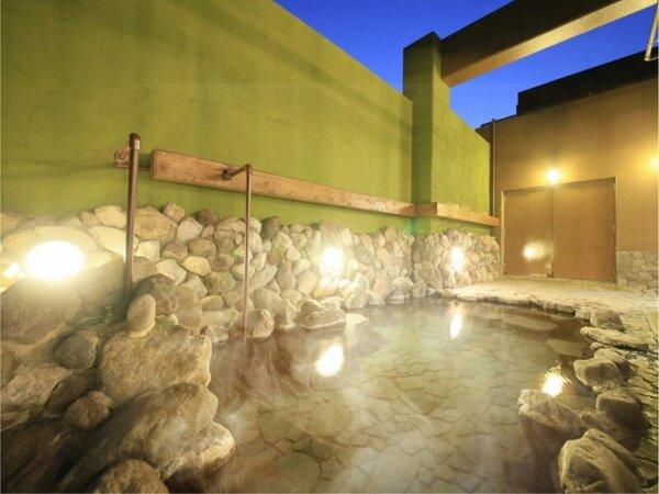 別府八湯の一つ亀川温泉の湯でお肌ツルツルに……
