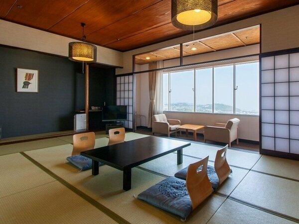 【本館】和室海側 ウェルカムベビープランでもご利用いただけるお部屋。 ※各階に1部づつでございます。