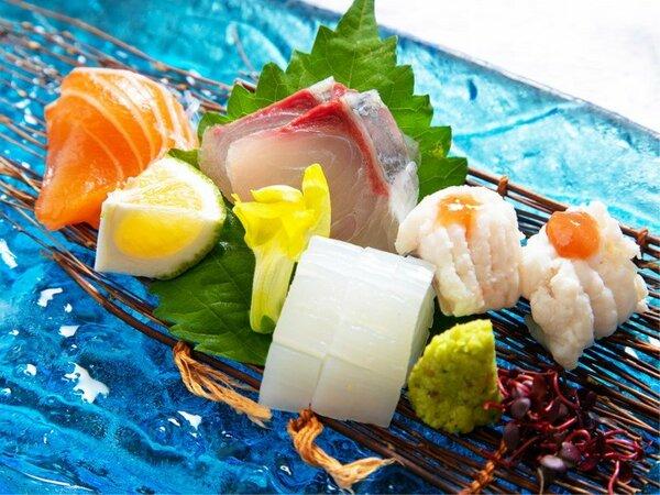〈基本会席・料理一例〉豊後水道の海の恵みを、ご賞味ください