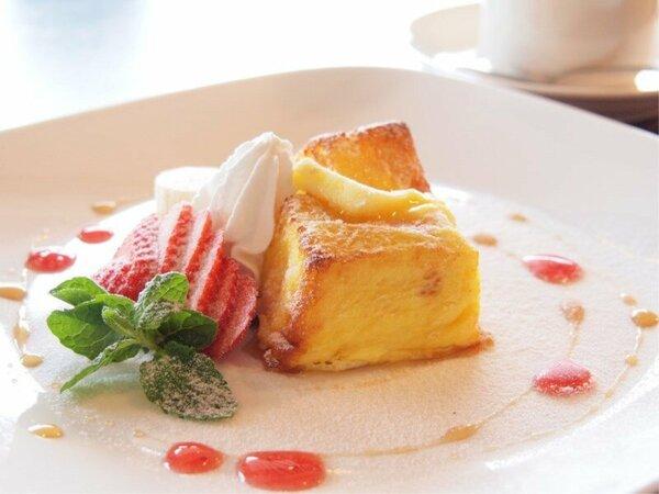 【朝食ブッフェ】ふわっふわのフレンチトースト!