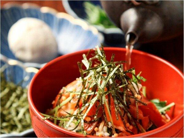 【朝食ブッフェ】鮭節からとったダシをかける朝食ブッフェの「あっぺメシ」ぜひご賞味を!