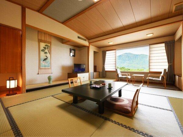 【別館和室(一例)】「祥雲亭」手つかずの自然に囲まれた静かで澄んだ空気の中でグッスリお休み下さい。