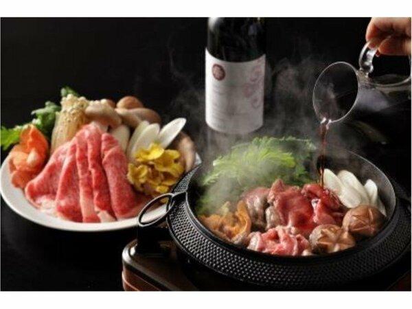 ワインすき鍋会席(特選料理)※イメージ