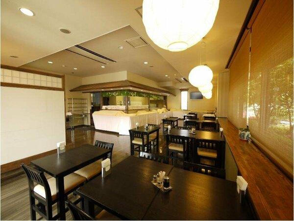 【レストラン 花茶屋】バイキング朝食営業時間_7:00~9:00