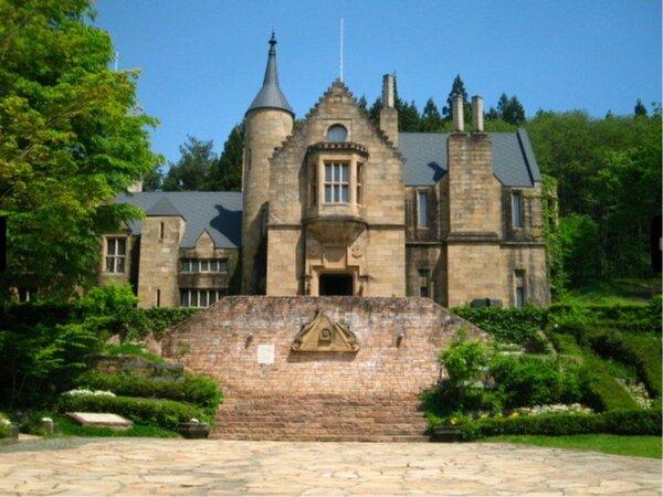 中世ヨーロッパへタイムスリップ♪古城の前で記念撮影はいかがでしょうか。