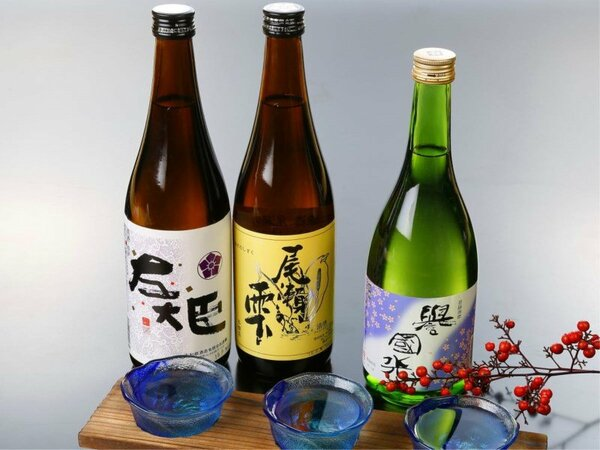 ・【利根の地酒】地元の名酒をご堪能ください