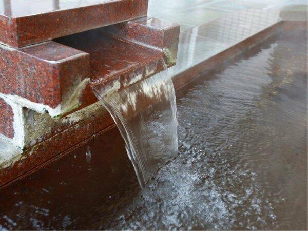 ・【百花の湯】女性大浴場 豊富な湯が懇々と出ております