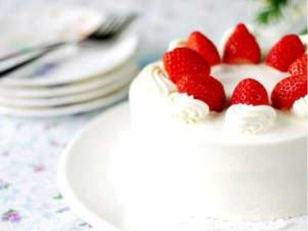 ・ホールケーキで記念日のお祝い♪