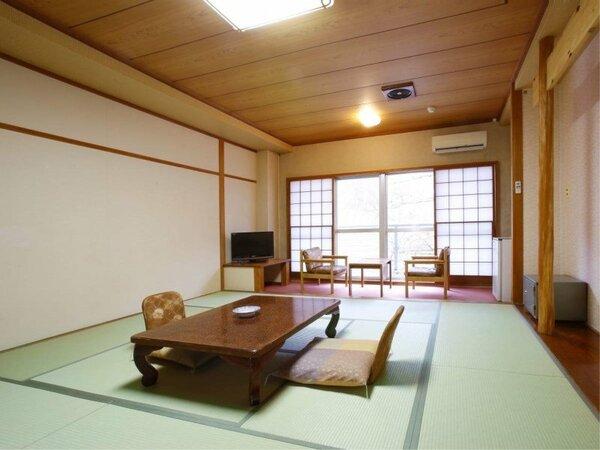 ・【和室12.5畳】標準客室 プライベートな空間をゆったり満喫!