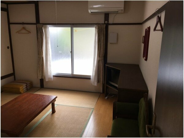 客室の一例(和室/イメージ) シンプルな畳のお部屋です。