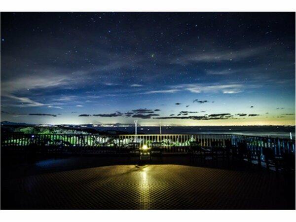 三原山テラス(イメージ) 夕景がまた素敵なんです!!