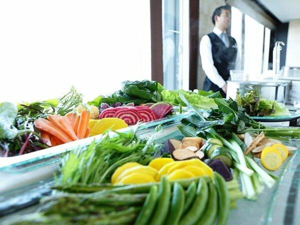 野菜たっぷり洋食ビュッフェ(※イメージ)