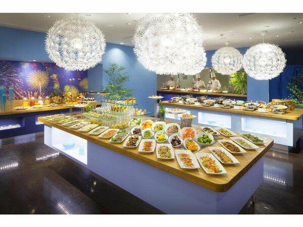 料理の一例(イメージ)夕食◆スタジオビュッフェもぐもぐ※食事提供方法が変更となる可能性があります