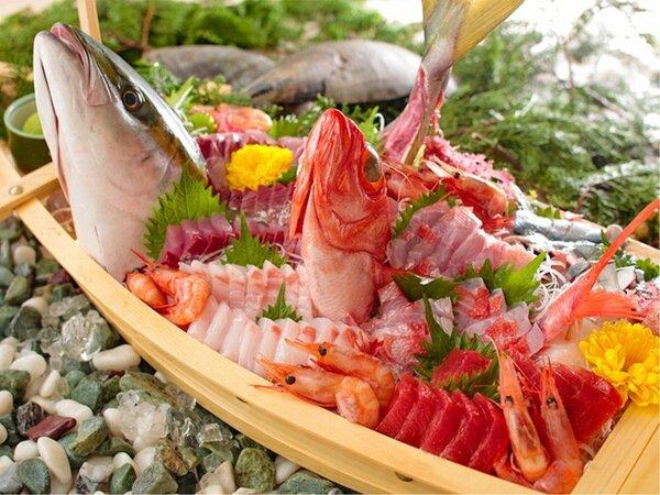2020 冬の料理フェア-豪華海鮮舟盛