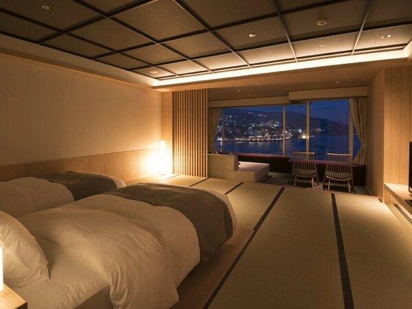 【タワー館エクセレンシィルーム】上層階(15~17階)のハイグレードなお部屋です。※写真は一例です。