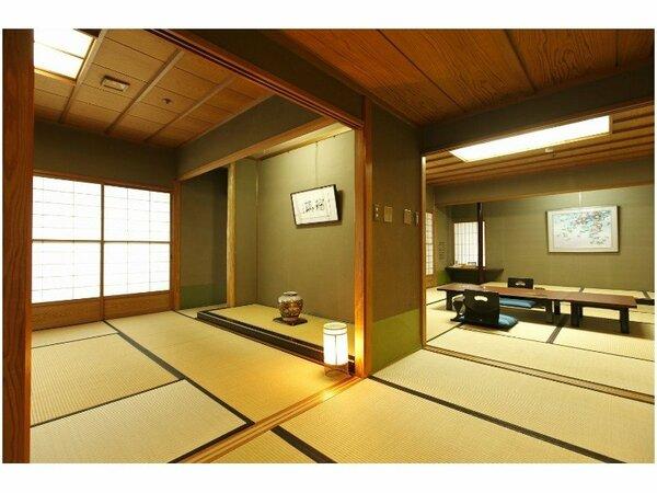 特別室『瑠璃』イメージ 和室13畳+8畳の2室