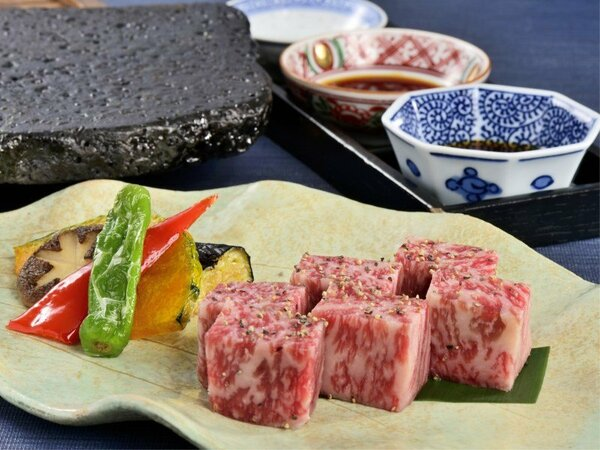<別注料理>和牛の溶岩焼き※写真はイメージです。