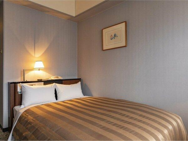 <セミダブルルーム>16平米 /ベッド幅120cm