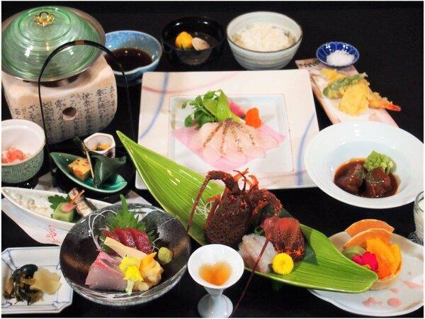 【2020年3月~】春の創作懐石は、イセエビのお造りや鯛のしゃぶしゃぶなど季節の食材を豪華に!!