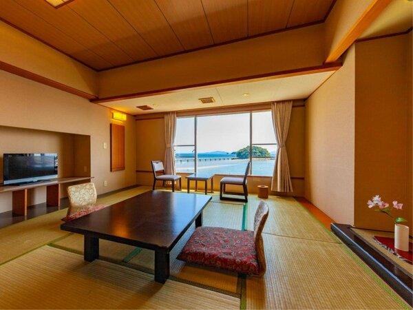 ~リーズナブル和室10畳~ 写真は5階以上の例ですが、3階~4階の客室もございます。指定不可