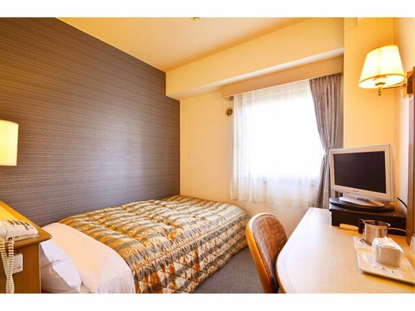 【シングルルーム】■ベッドサイズ:縦200cm×横120cm   ビジネスにてご利用のお客様にぴったりです。