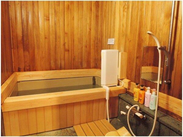 *【風呂】優しいヒノキの香りに包まれて癒しのバスタイムはいかがですか?