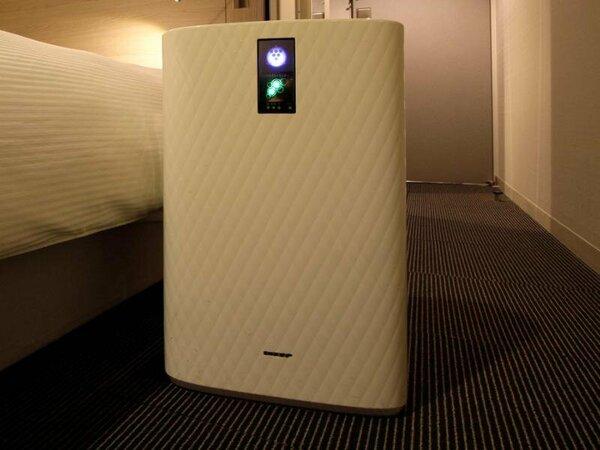 加湿空気清浄機(全室導入)