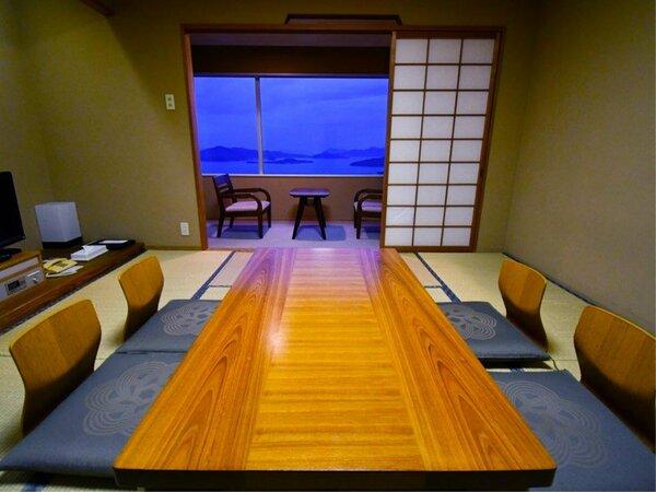 4階和室10畳+広縁付(全室禁煙・Wi-Fi無料接続)