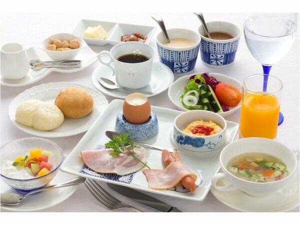 シェフこだわり食材の朝食セット
