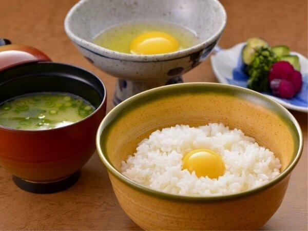 地元の無農薬棚田米と健康卵、厳選したお野菜と味噌・醤油で作る「贅沢朝ごはん」