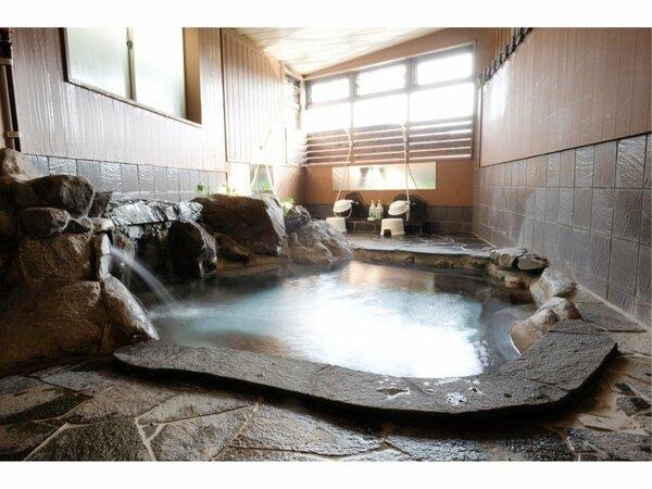 源泉かけ流し 岩風呂 有明
