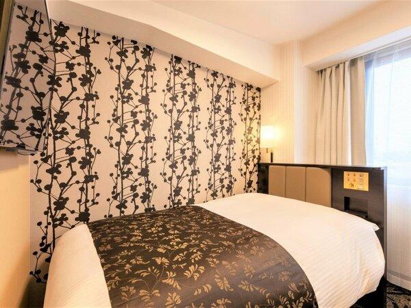 シングルルーム 広さ9平米~11平米 / ベッド幅120cm×1台
