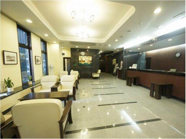 【ロビー】洗練された空間と近代的設備、細やかな心配りをご提供致します!