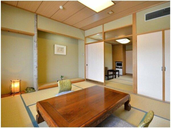 8畳+4畳の次の間を備えた居心地の良い和室