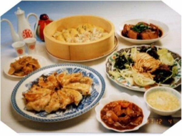 オーナーシェフの作る中華料理はヘルシーで油っこさを控え和洋も取り入れ新鮮な味を追求しています。