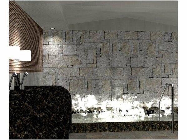 北見温泉「旅人の湯」 清潔感溢れる大浴場で心と身体をリフレッシュさせてくれます。
