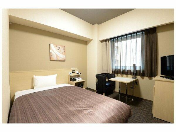 コンフォートシングルルーム ベッドサイズ130×200(cm)