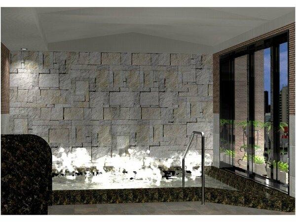 広々ゆったり♪天然温泉「旅人の湯」入浴時間15:00-2:00/5:00-10: