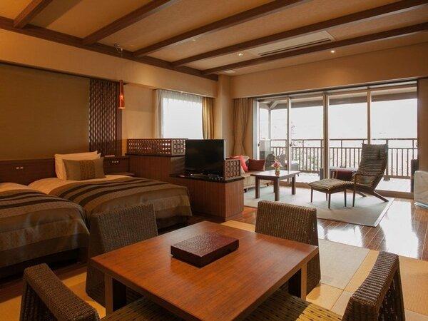 和モダンの空間にも心安らぐ、2階の角部屋です。