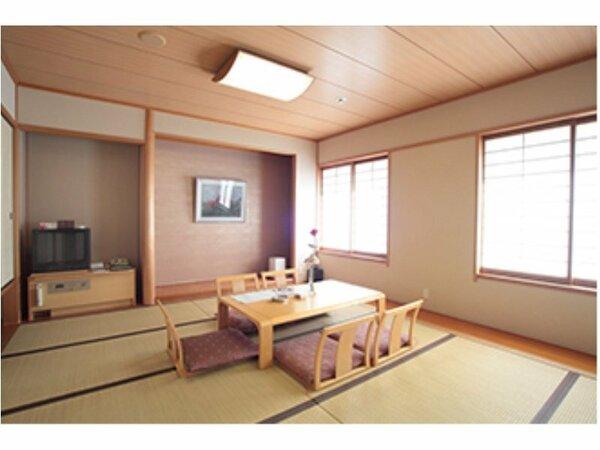 【和室(8畳)】カップル、ご夫婦、小グループに!純和風のお部屋でゆったりお寛ぎ下さい。
