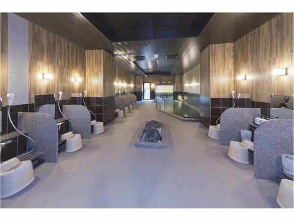 天然温泉大浴場 「山都の湯」 15:00から2:00 5:00から10:00