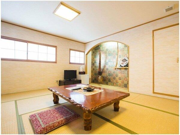 【和室10畳】3階のお部屋です(エレベーターあり)