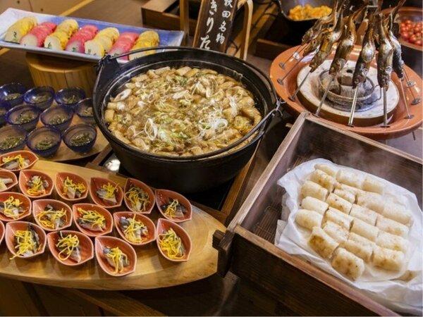 旬の食材を使用したお料理もお楽しみいただけます。
