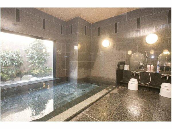男女別人工温泉大浴場【ご利用時間】15:00から2:00、5:00から10:00