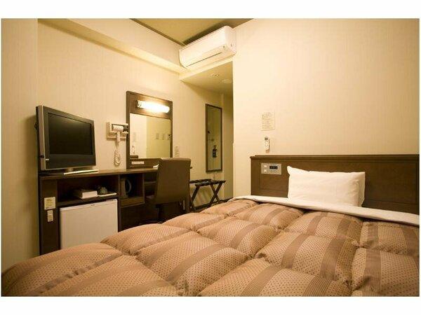 【シングルルーム】全室無料Wi-Fi&加湿機能付空気清浄器完備