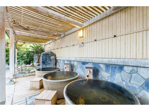 一人で入る「壷風呂」もございます。