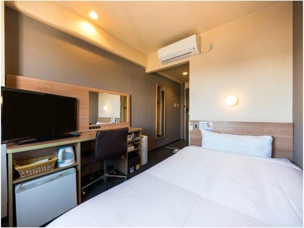 眠りを追及した120cm幅のワイドベッドと適度な硬さのマットでぐっすり