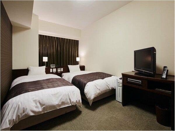 ◆コンフォートツインルーム 22 ベッドサイズ1100×2050 エキストラベッド準備可